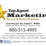 Top Agent Marketing Business Card Design