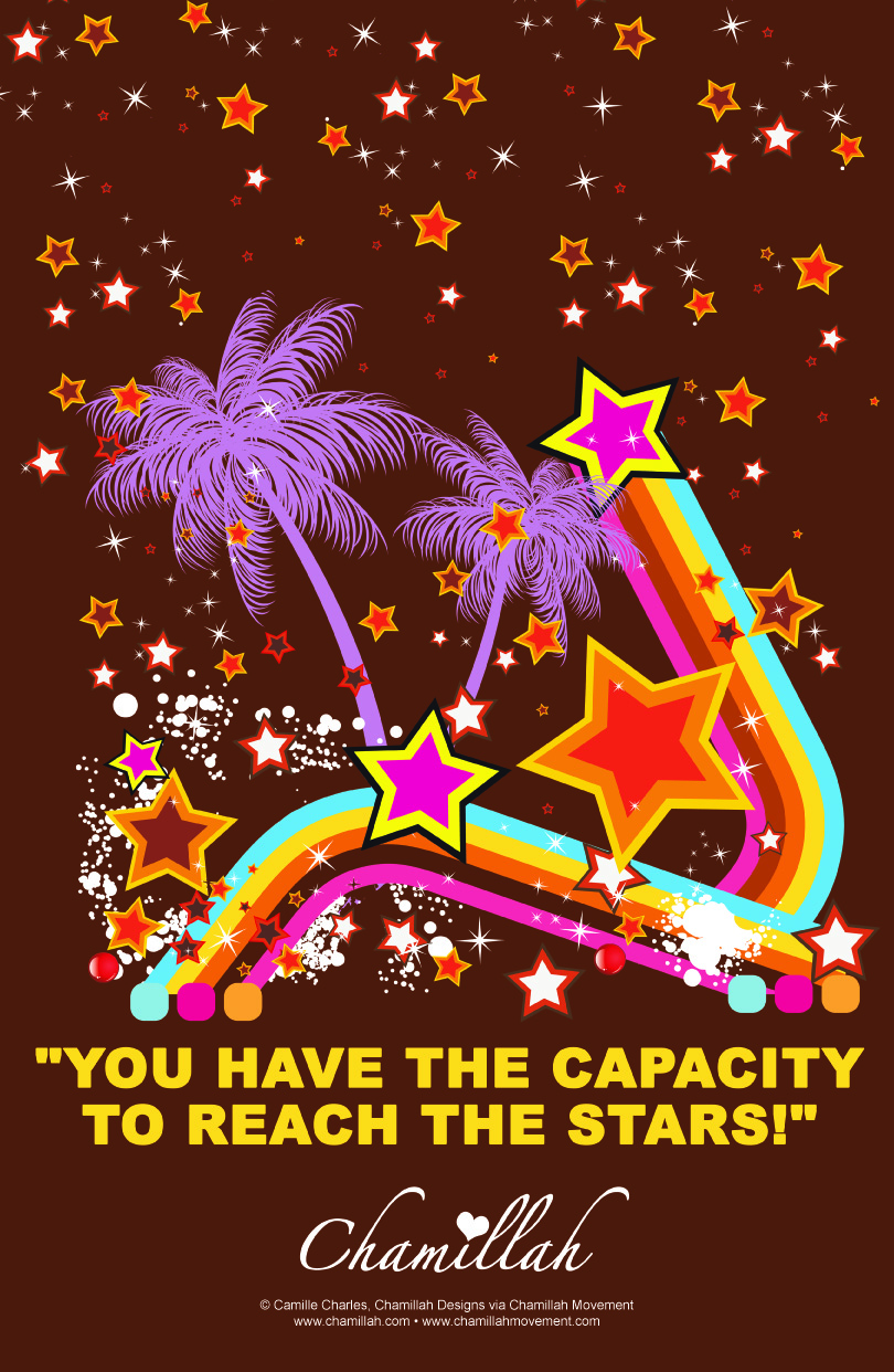 Capacity To Reach The Stars Poster