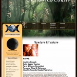 Enchanted Earth Website Design