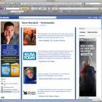 Steve Maraboli Facebook Fan Page Design