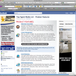 Top Agent Media Facebook Fan Page Design