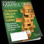 Insurance Marketing Magazine Cover Design