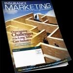 Insurance Marketing Magazine Cover Design