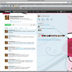 Kristine Carlson Twitter Background Design