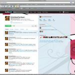 Kristine Carlson Twitter Background Design