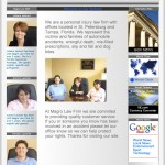 Magro Law Firm Website Design