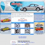 Magro Wheel's Website Design