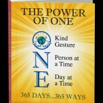 The Power of One Steve Maraboli Custom Book Cover Design