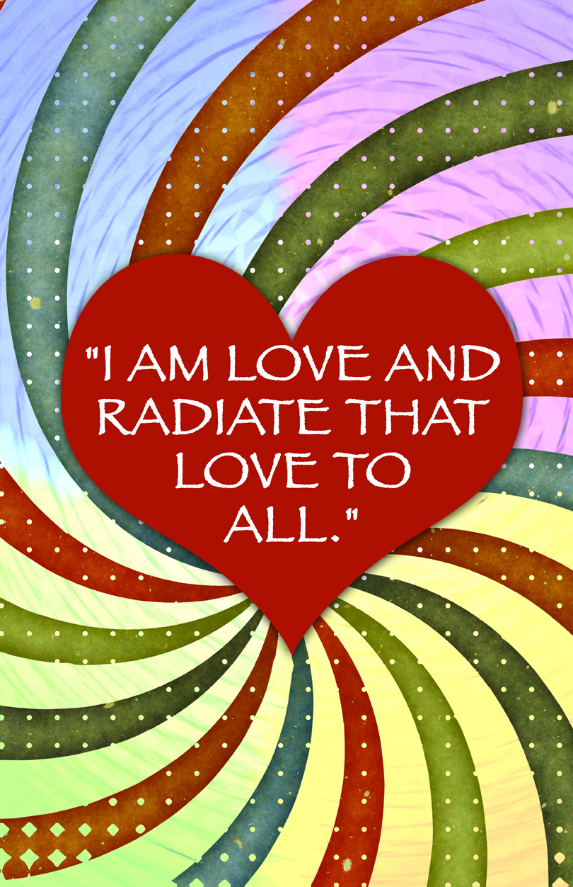 Radiate Love To All Poster
