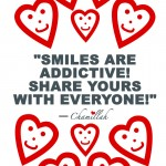 Share Your Smile Poster Design