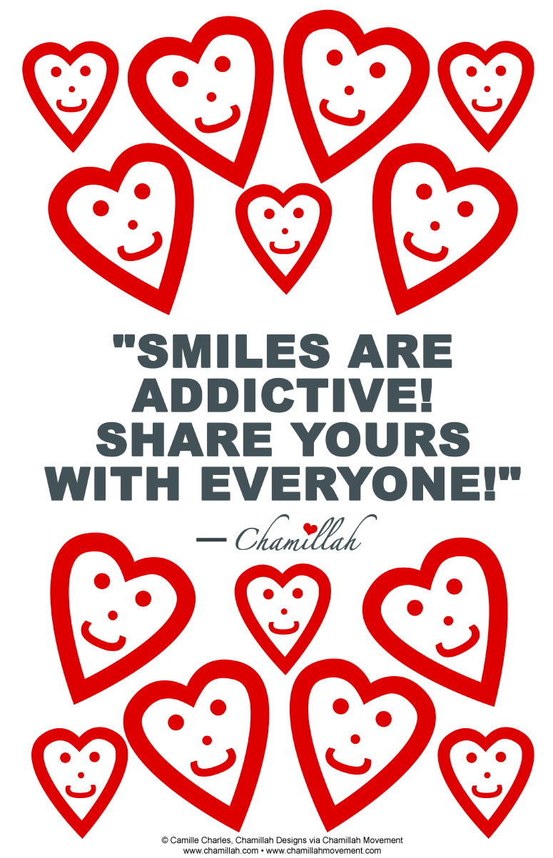 Share Your Smile Poster