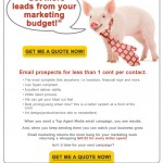 Top Agent Email Campaign Design