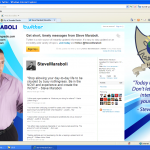 Steve Maraboli Twitter Background Design