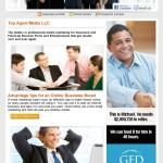 Top Agent e-newsletter Campaign Design