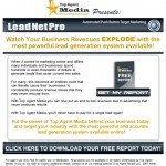 Leadnet Pro Email Campaign Design