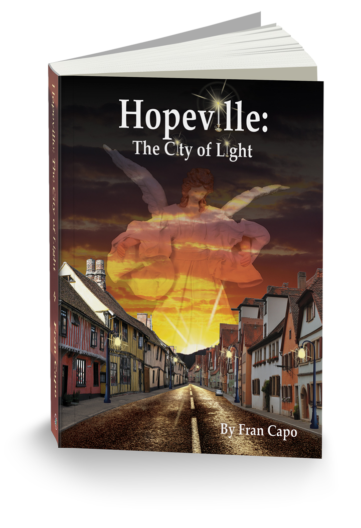 Hopeville Custom Book Cover Design