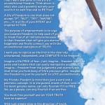 Steve Maraboli Freedom Poster