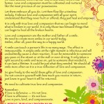 Steve Maraboli Love and Compassion Poster