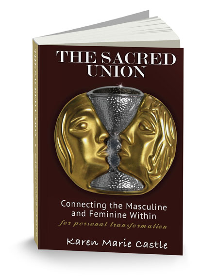 The Sacred Union Custom Book Cover Design