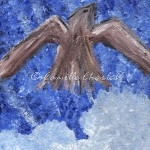 Acrylic - Bird Flying
