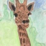 Pastels - Baby Giraffe