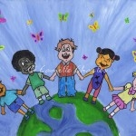 Acrylic and Oil Pastels - Diversity Kids