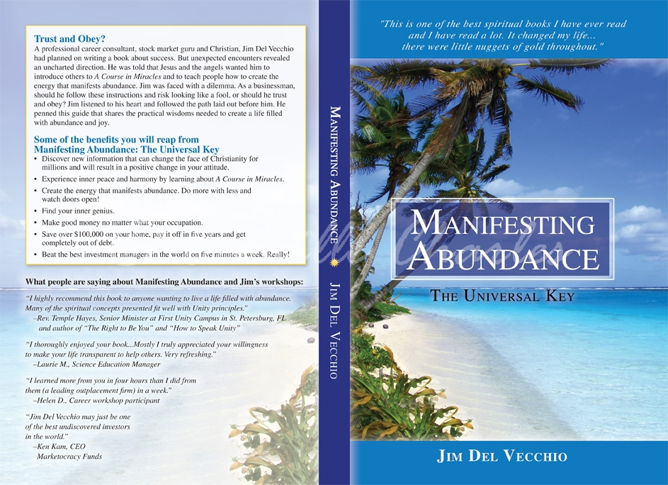Manifesting Abundance Custom Back Cover Design