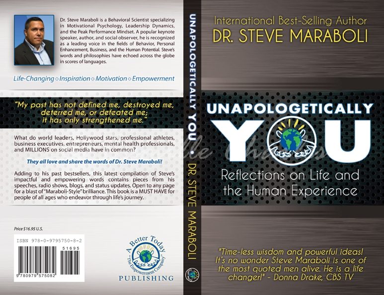 Unapologetically You Custom Back Cover Design