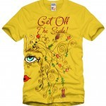 Get Off The Scale Painted Shirt Design