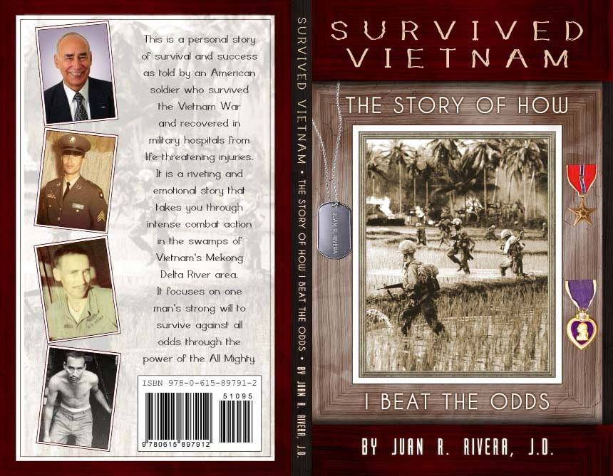 Survived Vietnam Custom Front and Back Cover