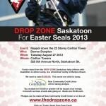 Drop Zone Poster Design