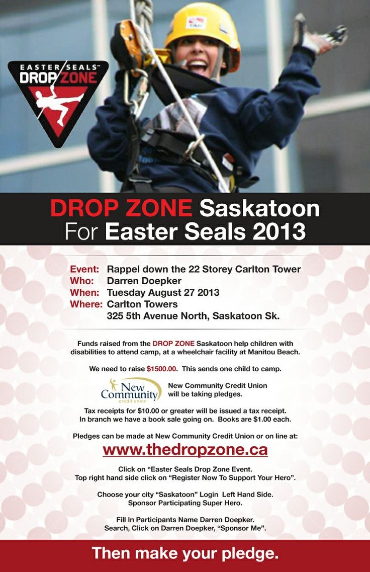 Drop Zone Poster Design