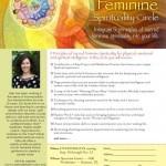 Sacred Feminine Flier