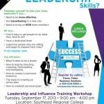 Leadership Flier Design