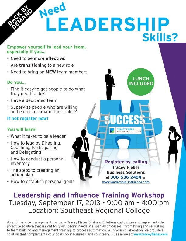 Leadership Flier Design